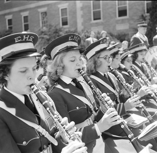 A-Convention-of-school-bands-in-Virginia-USA-1953-9