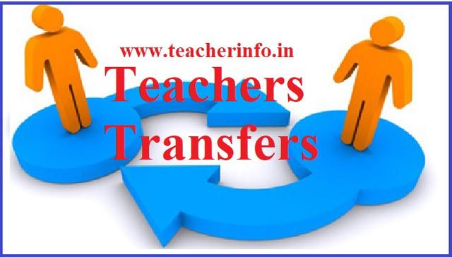 TEACHERS-TRANFERS