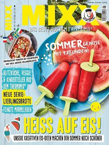 Cover: Mixx Das Beste aus dem Thermomix Magazin No 05 2021