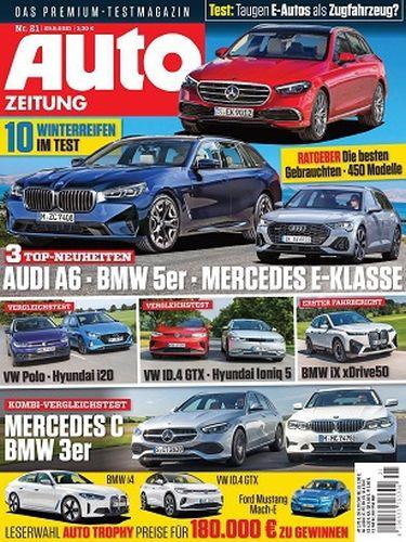 Cover: Auto Zeitung Premium-Testmagazin No 21 vom 29  September 2021