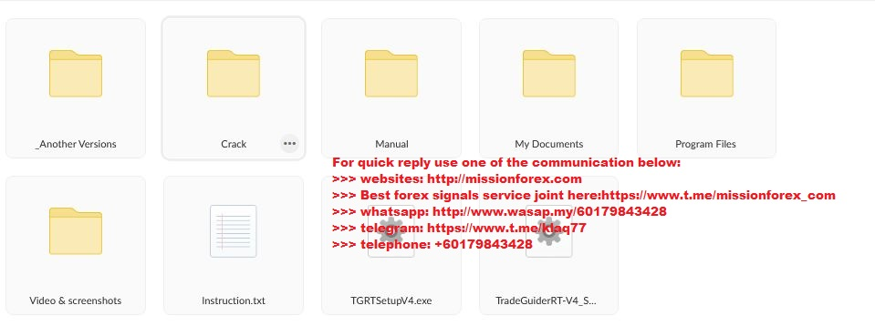 TradeGuider MT4 VSA Plugin Tradeguider 4.1.16.0 EOD RT Manual