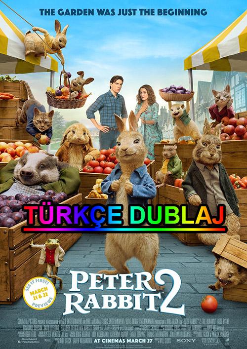 Peter Rabbit: Kaçak Tavşan | 2021 | HDCAM | XviD | Türkçe Dublaj | m720p - m1080p | HDCAM | Tek Link