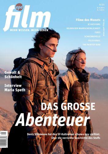 Cover: Epd Film Magazin No 09 2021