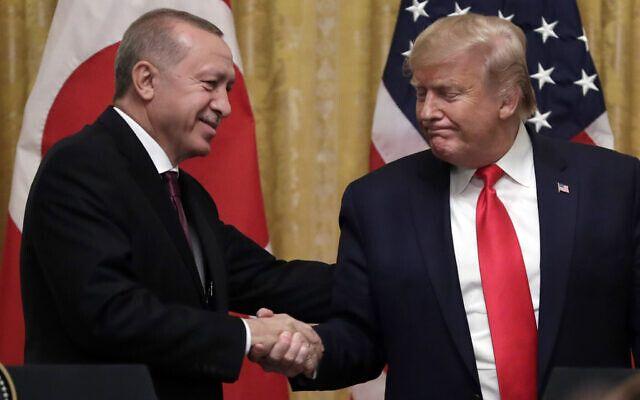 Эрдоган явно доволен
