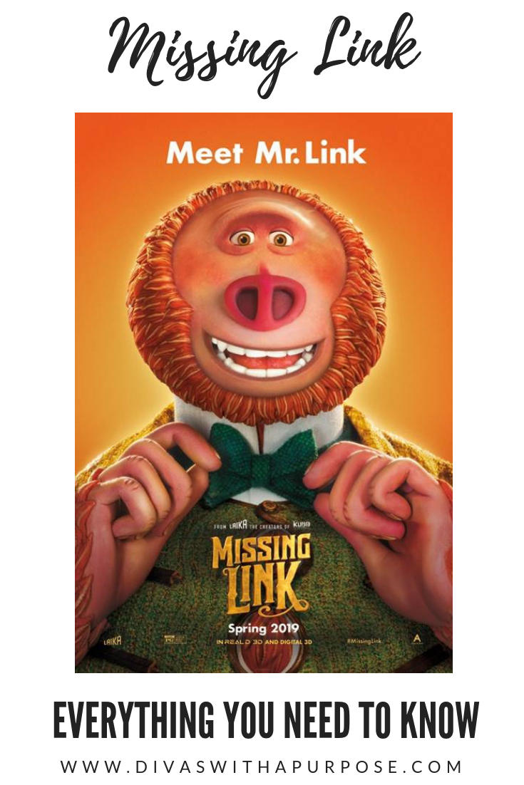 Everything you need to know about Missing Link. The movie will be in theaters on April 12th. #MissingLink #newmovie