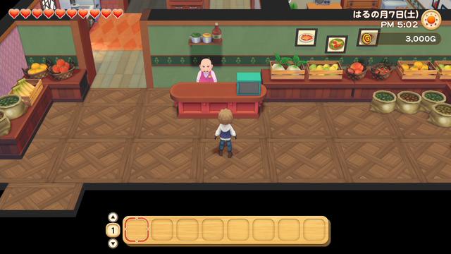 「牧場物語」系列首次在Nintendo SwitchTM平台推出全新製作的作品!  『牧場物語 橄欖鎮與希望的大地』 於今日2月25日(四)發售 051