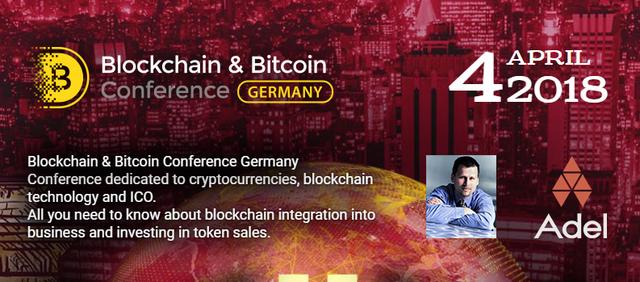 18 Apr 4 Berlin Bitcoin Blockchain Conference Smile Expo graphic
