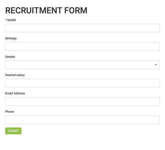 Recruitment Module for Perfex CRM - 1