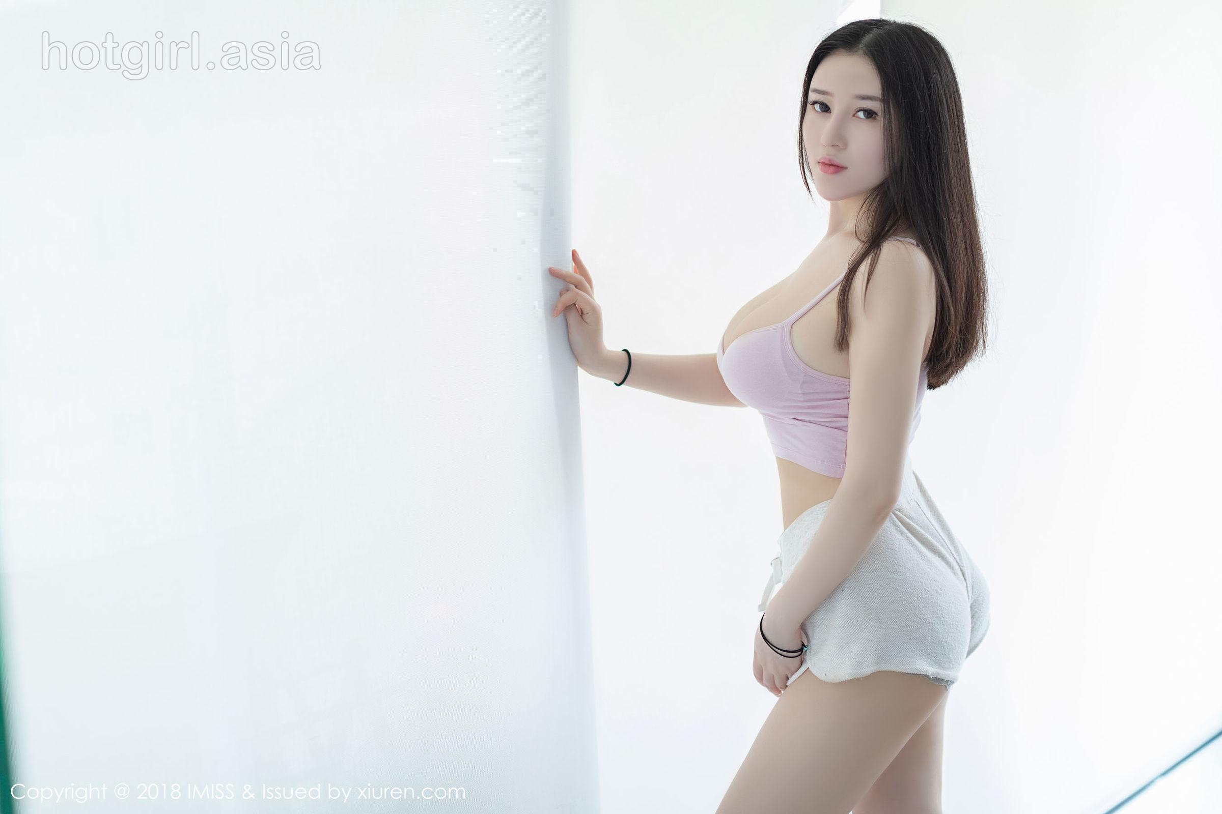 [IMiss 爱 蜜 社] Vol.298 Big breast goddess @ 恩 一 Phuket Island travel photo