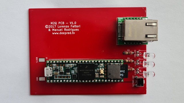 Only PCB soldered