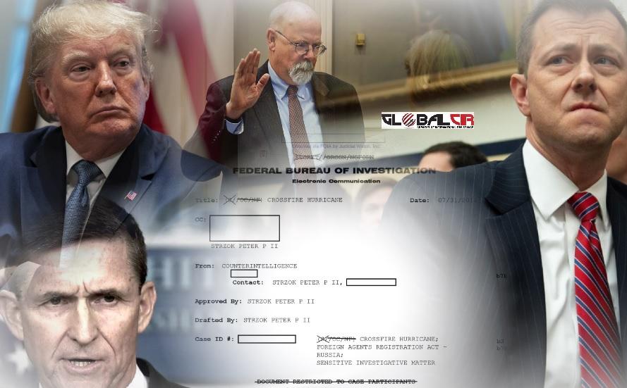 KAO U SJEVERNOJ KOREJI! Ovo je dokument FBI-a koji potvrđuje da je istraga protiv Trampove kampanje o navodnom 'dosluhu sa Rusima' bila pravno neutemeljena: Dokument na osnovu kojeg je pokrenuta istraga kreirao, odobrio i sebi poslao jedan te isti agent FBI-a!