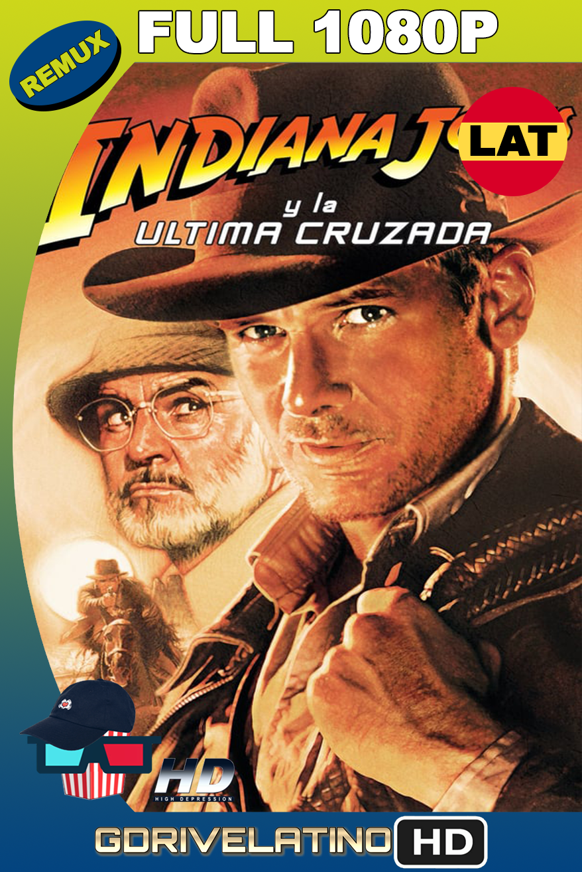 Indiana Jones 3: La última cruzada (1989) BDRemux 1080p latino-ingles MKV