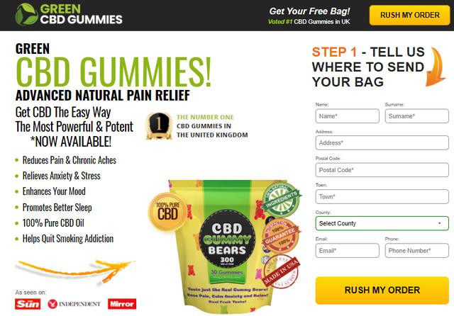 Green-CBD-Gummy-Bears