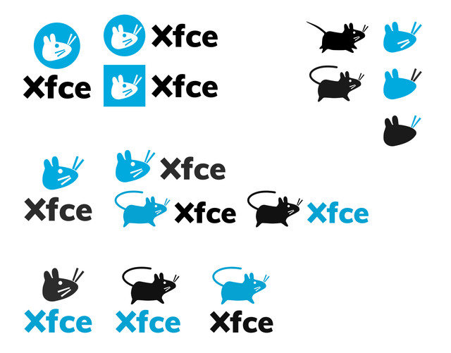 Xfce logo development