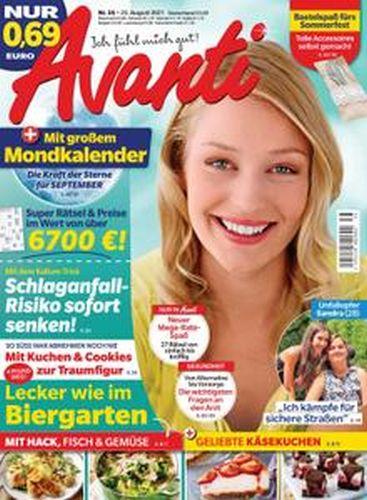 Cover: Avanti Frauenmagazin No 35 vom 25  August 2021