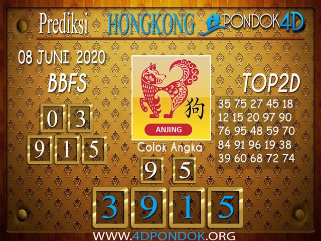 Prediksi Togel HONGKONG PONDOK4D 08 JUNI 2020