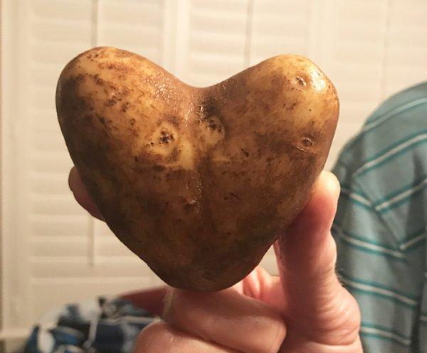 Романтическая картошка