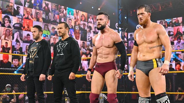 The Undisputed Era y Finn Balor NXT 27 enero