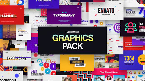 Videomaker Graphics Pack 32196607 - Project for After Effects [Motion Factory] (Videohive)
