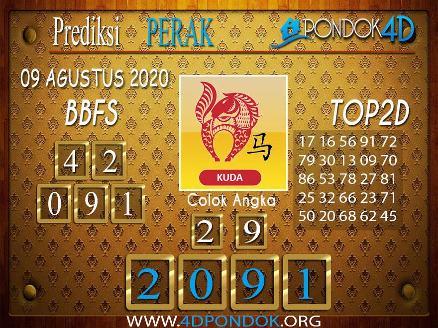 Prediksi Togel PERAK PONDOK4D 09 AGUSTUS 2020