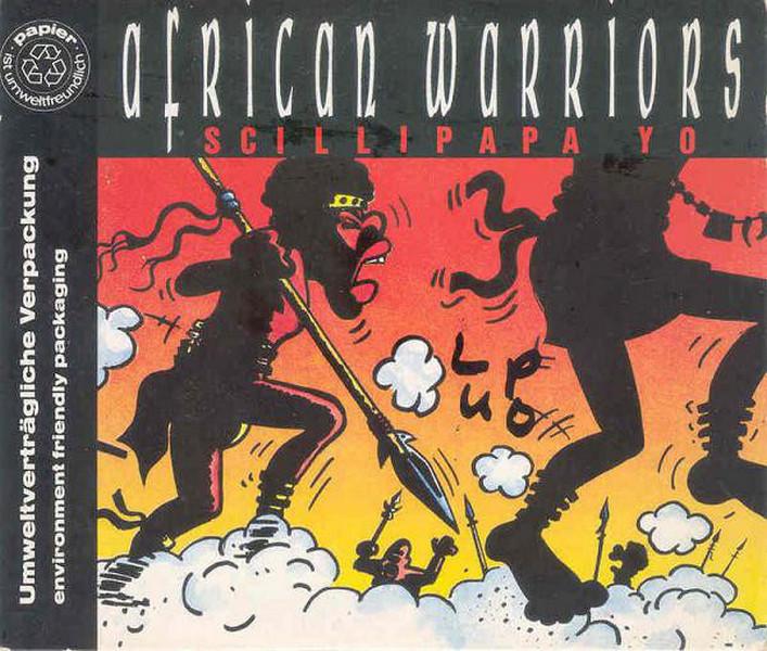 African Warriors - Scillipapa Yo (CD, Maxi-Single) 1991 (Lossless)