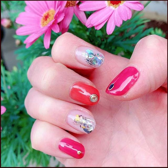 Spring-nail-chestnuts-yuiko-spring-springnails-fashionista-thankyou