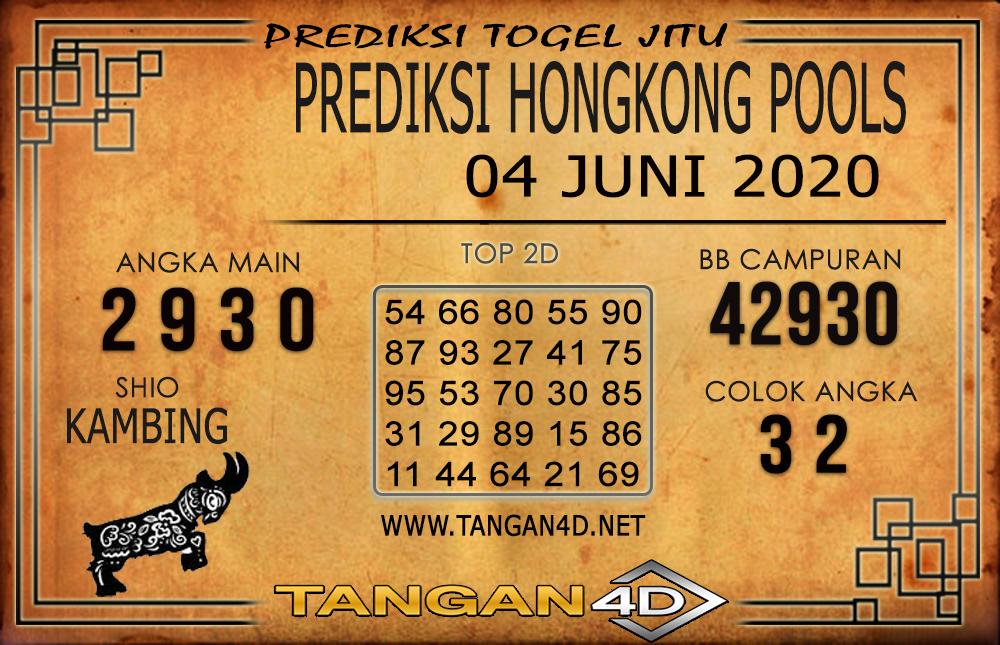 PREDIKSI TOGEL HONGKONG TANGAN4D 04 JUNI 2020