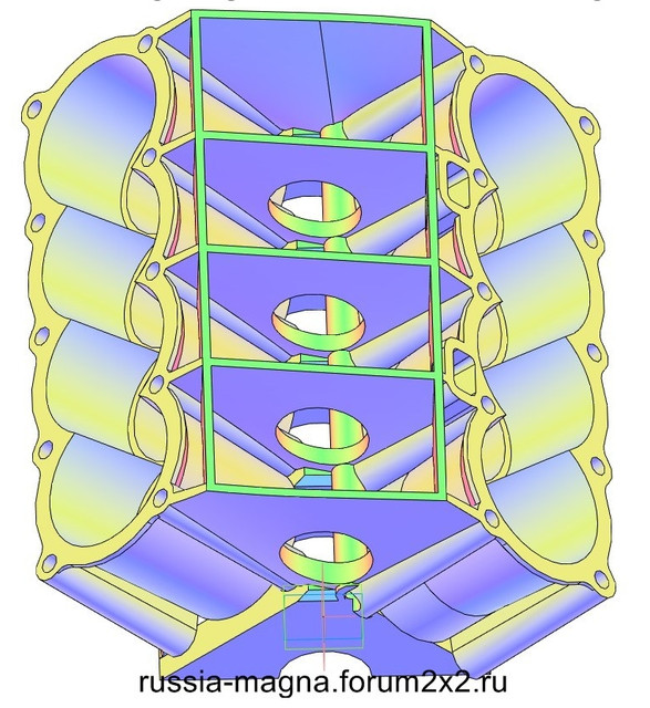 ВАЗ-V8. Восьмицилиндровый из двух вазовских. VAZ-V8-320