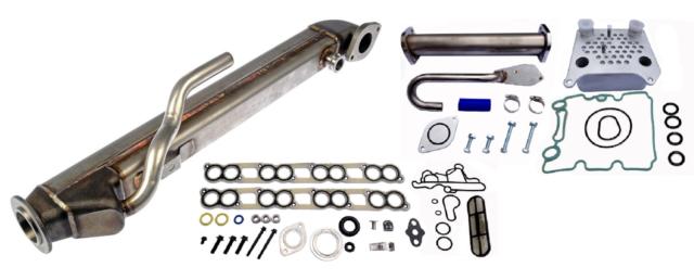 Oil Cooler Kit EGR Delete Upgraded High Coolant Flow Ford F-250 F-350 6.0L Diesel Turbo
