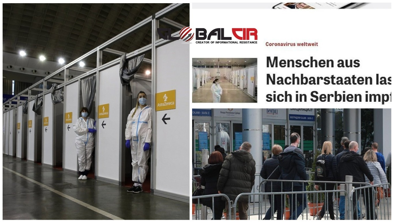 ČITAVE PORODICE IZ BiH DOLAZE U BEOGRAD NA VAKCINACIJU! Njemački mediji: Srbija je centar za vakcinisanje stanovnika iz susjednih država!