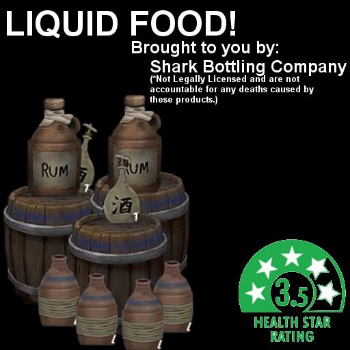 Consumable Liquids / Потребляемые жидкости