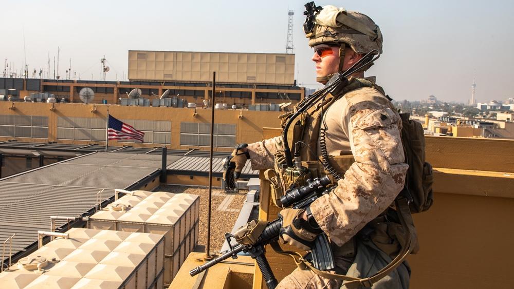 TREĆI NAPAD U SEDAM DANA! Najmanje dvije rakete pale u Zelenu zonu u Bagdadu, meta Ambasada USA!