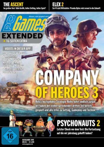 Cover: Pc Games Magazin No 09 September 2021