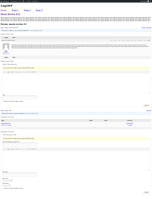 single-page-reviews-with-top-topic-and-forum
