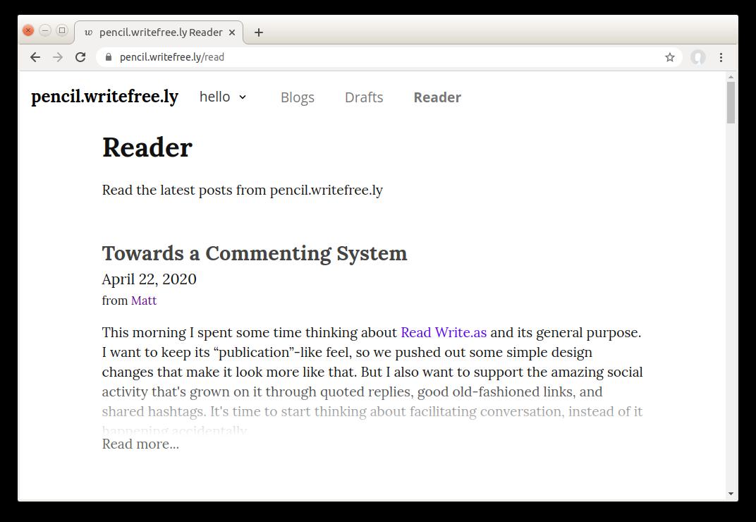 write-freely