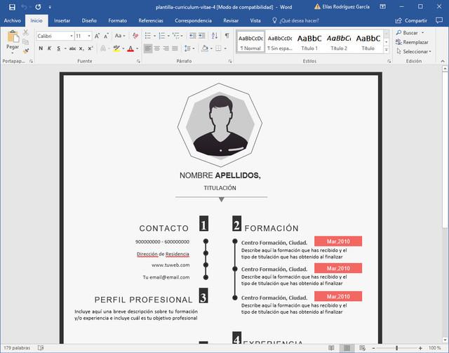 como hacer un curriculum de trabajo chileno cv 2019  ejemplo y formato