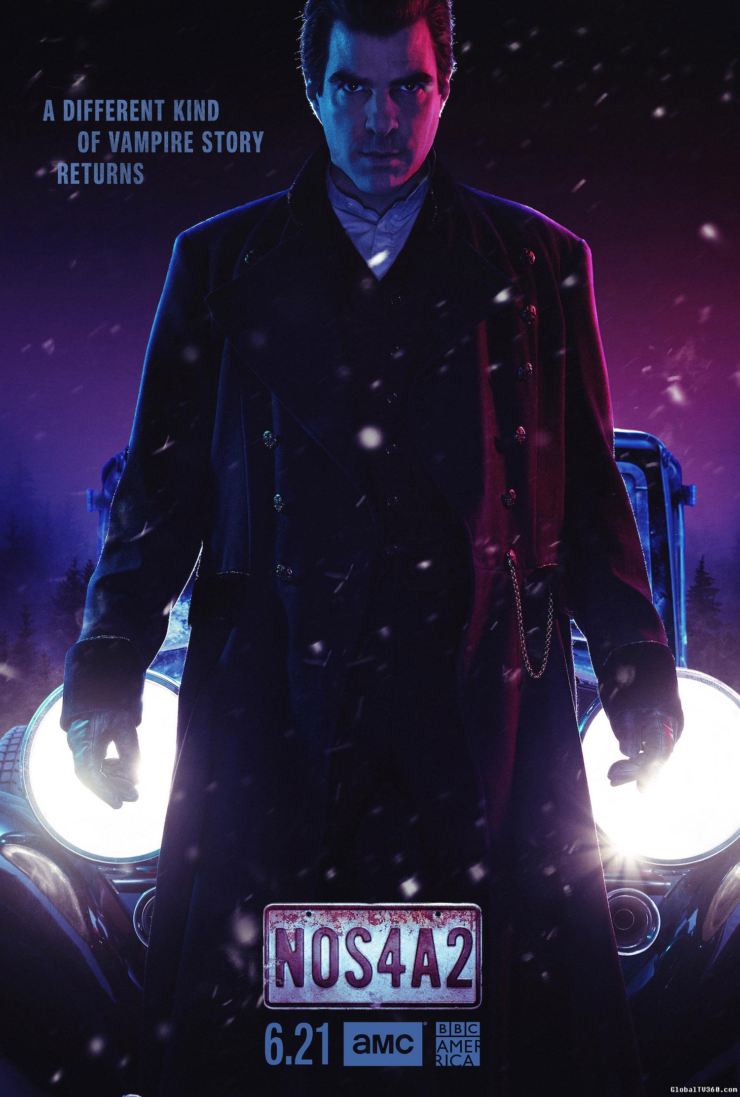 圣诞恶灵 NOS4A2 第2季 官方海报及官方预告