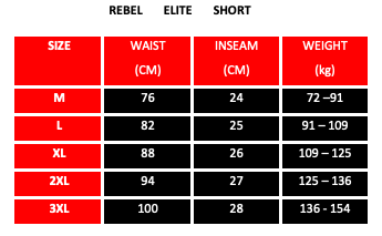 REBEL ELITE SHORT