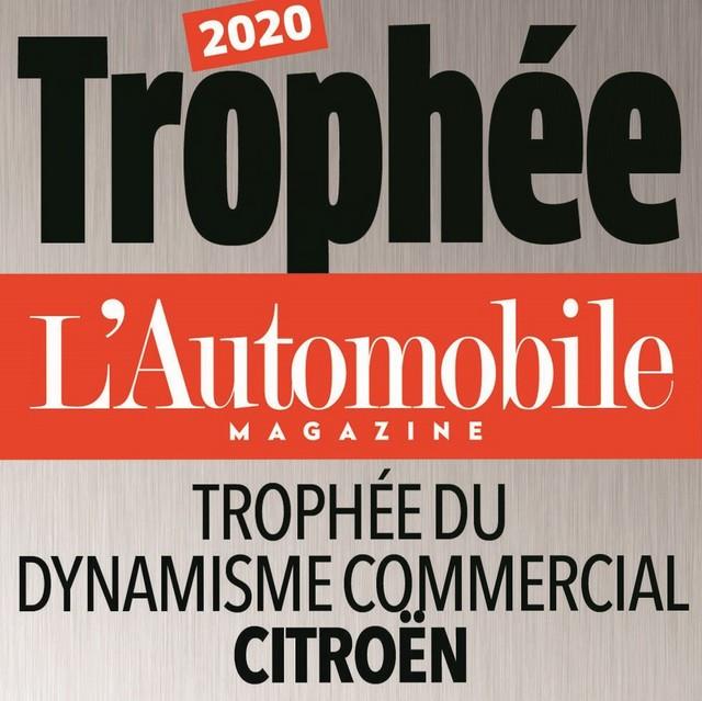 L'automobile Magazine Décerne Le Trophée Du « Dynamisme Commercial » À Citroën LAUTOMOBILE-MAGAZINE-DECERNE-TROPHEE-A-CITROEN