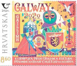 2020. year ZAJEDNI-KO-IZDANJE-REPUBLIKA-HRVATSKA-REPUBLIKA-IRSKA-Galway