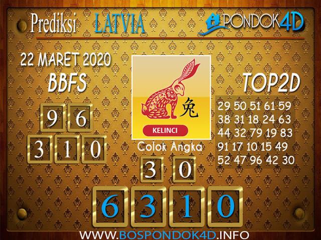 Prediksi Togel LATVIA POOLS PONDOK4D 22 MARET 2020