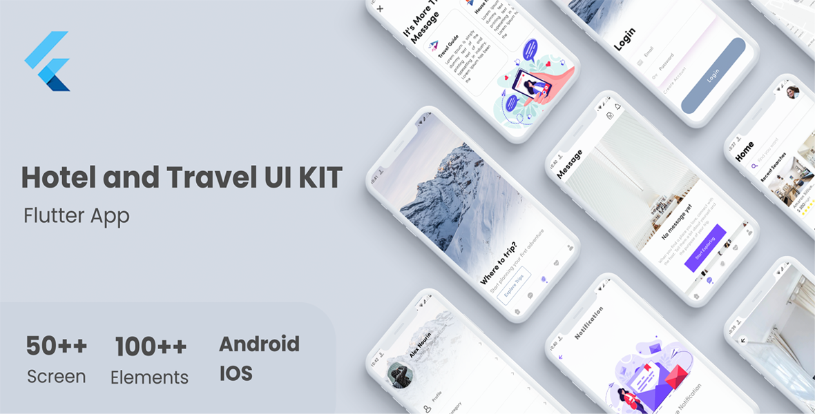 Flutter E-Commerce UI KIT Template in flutter - 8