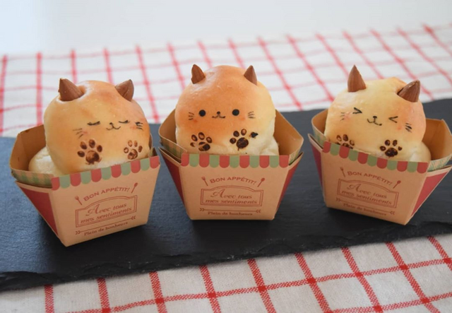 各種可愛的麵包甜點 Image