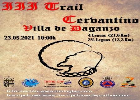 El 23 de Mayo tendrá lugar el III Trail Cervantino Villa de Daganzo