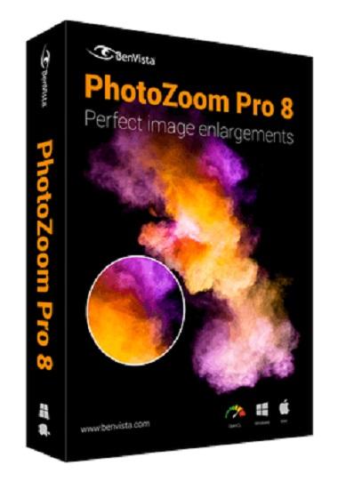 Benvista PhotoZoom Pro 8.0.0 / RePack (& portable) by KpoJIuK (RU/ML)