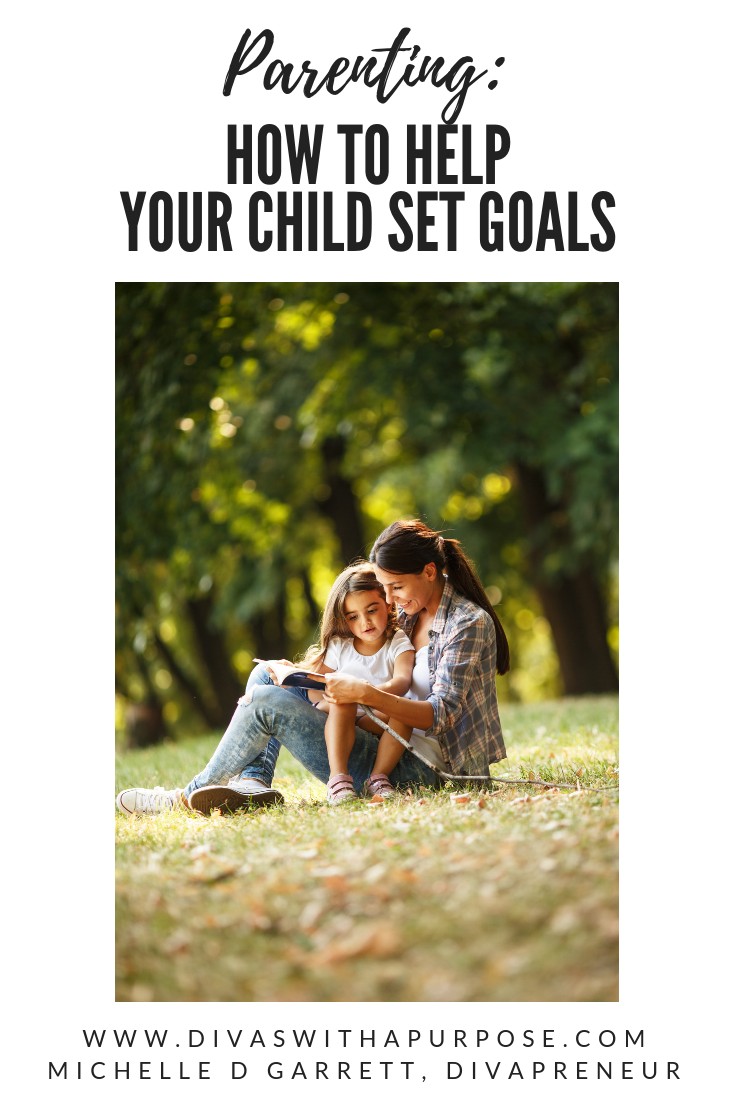 How to help your child set goals in the different areas of their life. #goalsetting #parenting #goals