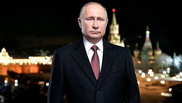 Путинское новогоднее поздравление завалили дизлайками на YouTube