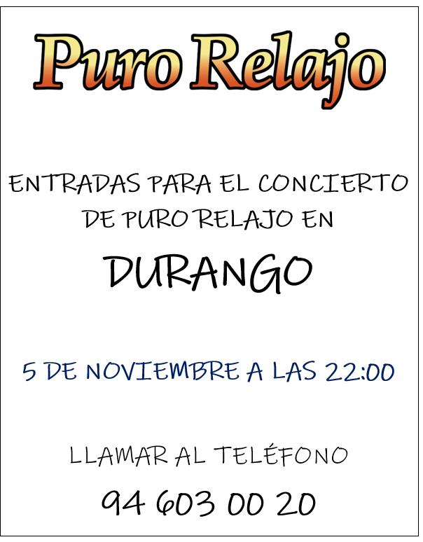DURANGO-ENTRADAS