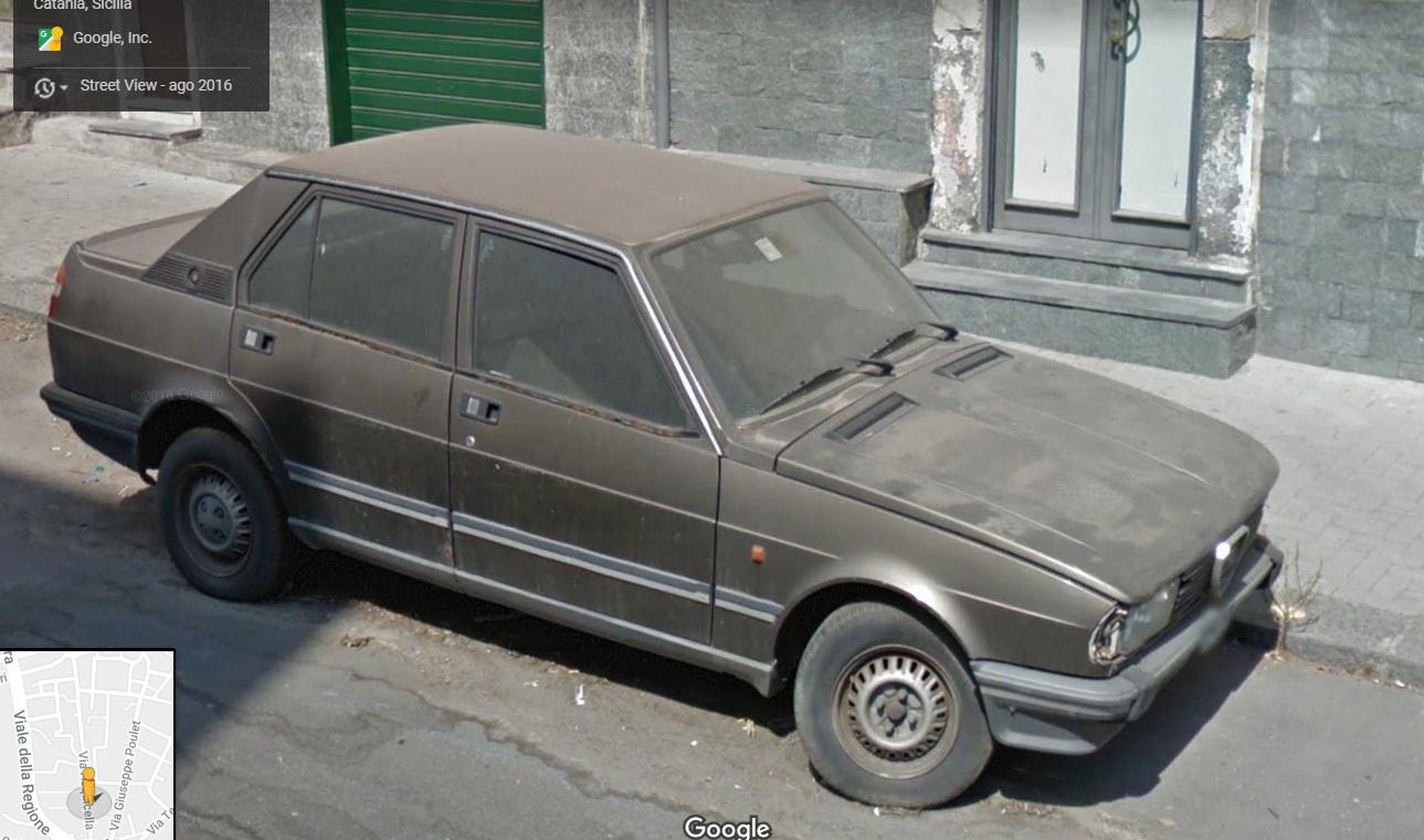 Auto  storiche da Google Maps - Pagina 10 Alfa-Romeo-Giulietta-Via-Acquicella-Catania