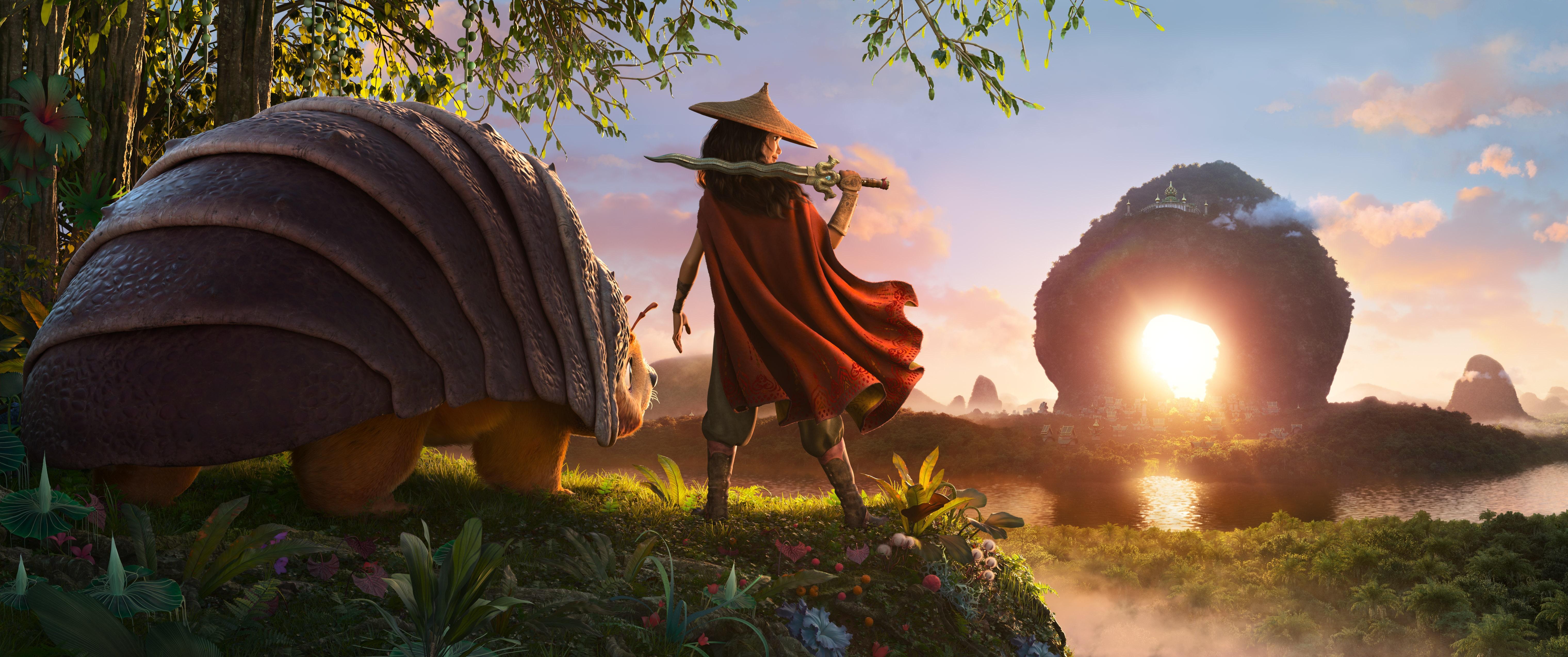 RAYA-AND-THE-LAST-DRAGON-As-an-evil-force-threatens-the-kingdom-of-Kumandra-it-is-up-to-warrior-Raya